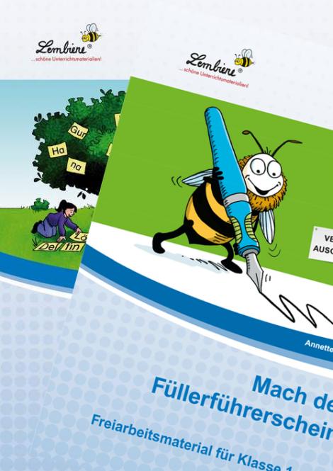 Silben / Füllerführerschein Kombipaket DL