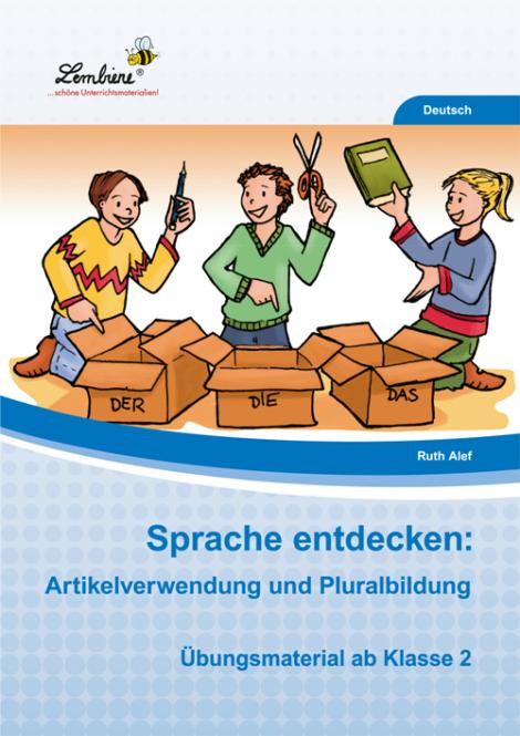 Sprache entdecken: Artikelverwendung und Pluralbildung PR