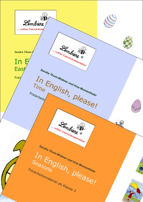 "English ""Time"", ""Seasons"", ""Easter"" Kombipaket DL"