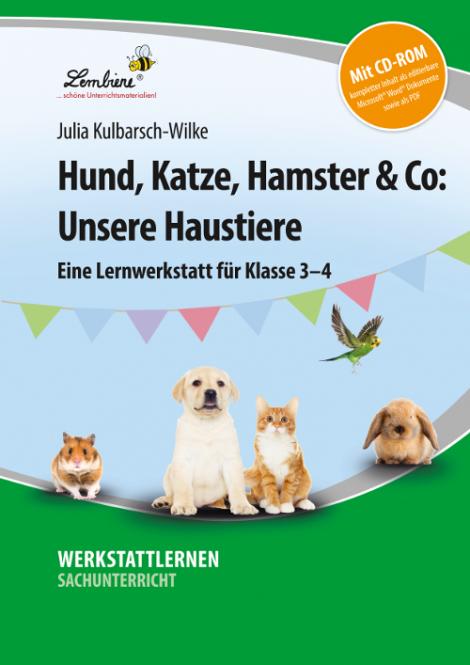 Hund, Katze, Hamster & Co: Unsere Haustiere Set