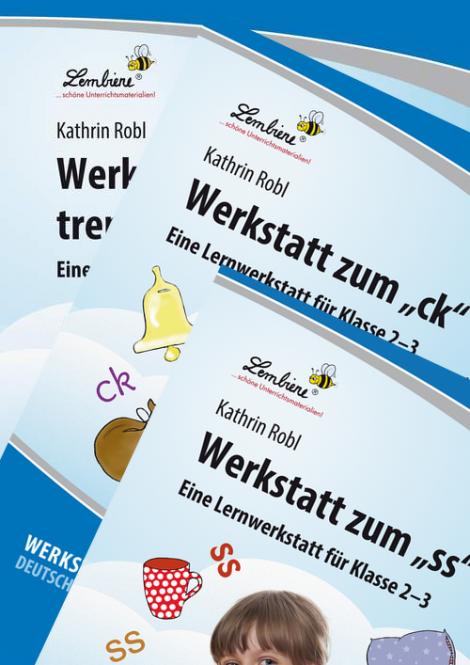 """Werkstatt zum """"ck"""", """"ss"""" und """"silbentrennenden-h"""" Kombipaket DL"""