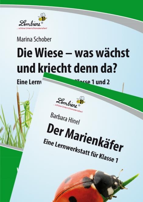 Die Wiese / Der Marienkäfer Kombipaket DL