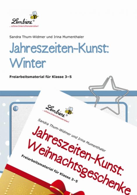 Jahreszeiten-Kunst Winter/Weihnachtsgeschenke Kombipaket DL