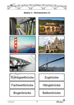 Brücken kennenlernen und bauen DL