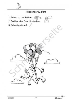 Kreative Schreibanlässe für Klasse 1 PR