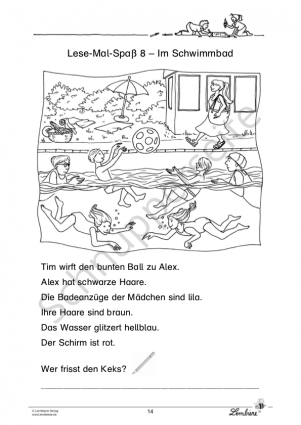 Lese-Mal-Spaß für Klasse 1 PR