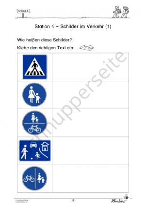 Verkehrssicherheit – So bin ich sicher auf dem Schulweg PR