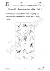 Das LRS-Förderpaket. Übungen zur Raum-Lage-Wahrnehmung PR