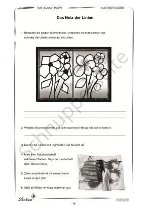 Die Kunstmappe: Hundertwasser PR