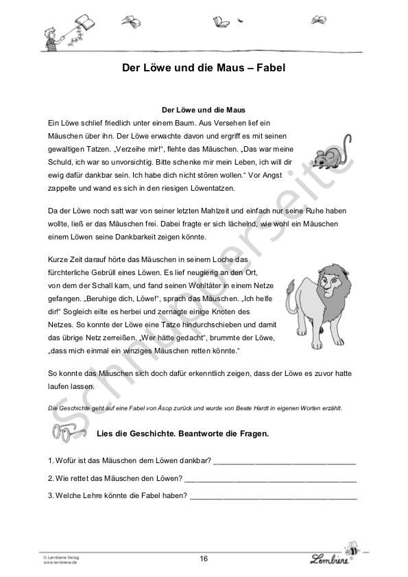 4 klasse kurzgeschichte Kurzgeschichten 4